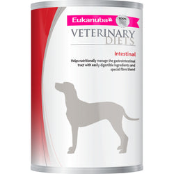 Eukanuba Veterinary Intestinal Adult Dog Food Tins 400g x 12