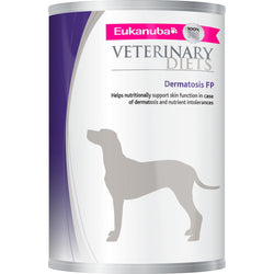 Eukanuba Veterinary Dermatosis FP Adult Dog Food Tins 400g x 12