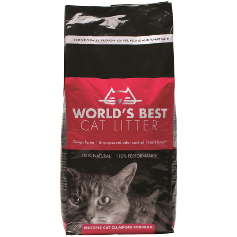 Worlds Best Cat Litter Extra Strength Clumping Formula 12.7kg