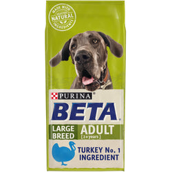 BETA Turkey Large Breed Dry Adult Dog Food 14kg