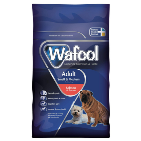 Wafcol Salmon & Potato Small & Medium Dog Food 2.5kg