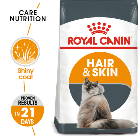 Royal Canin Hair And Skin Care Dry Adult Cat Food 10kg