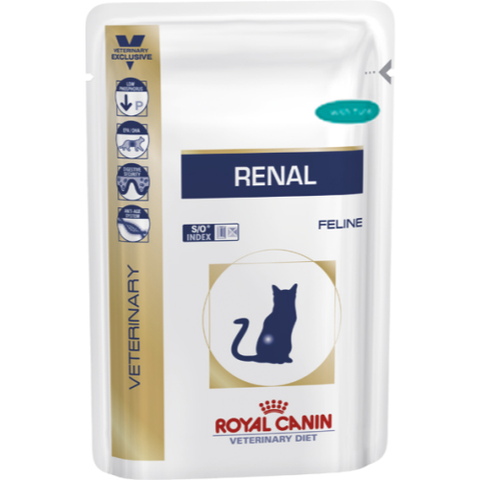 Royal Canin Veterinary Diets Renal Cat Food Pouches 85g x 12 Tuna