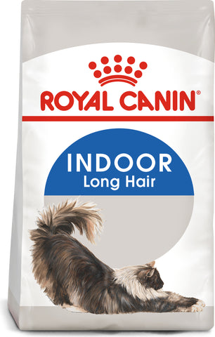 Royal Canin Indoor Long Hair Dry Adult Cat Food 10kg