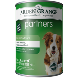 Arden Grange Partners Lamb & Rice Wet Adult Dog Food  395g x 6