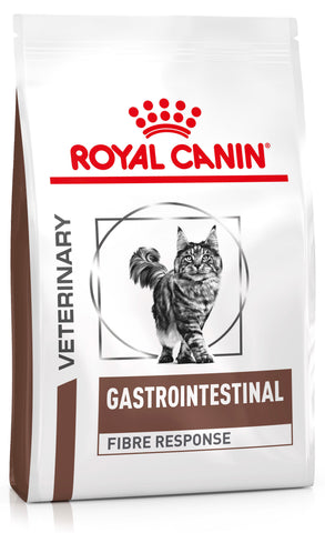 Royal Canin Veterinary Diets Gastro Intestinal Fibre Response Cat Food 2kg