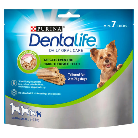 Purina Dentalife Extra Small Adult Dog Chew 7 Sticks