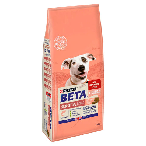 BETA Salmon & Rice Sensitive Adult Dog Food 2kg
