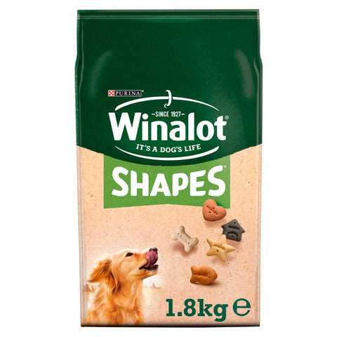 Winalot Shapes Dog Biscuits 1.8kg