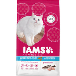 IAMS Ocean Fish Senior & Mature 7+ Cat Food 2.55kg