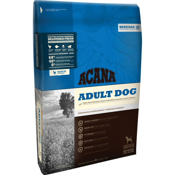 Acana Heritage Chicken Adult Dog Food 11.4kg