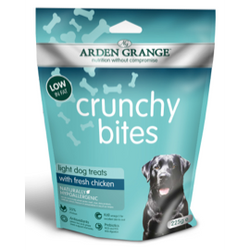 Arden Grange Crunchy Bites Dog Treats 225g - Light