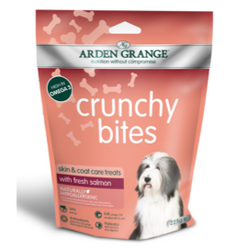 Arden Grange Crunchy Bites Dog Treats 225g - Salmon
