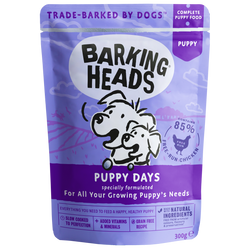 Barking Heads Puppy Days Wet Puppy Food 300g x 10