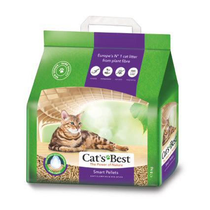 Cats Best Smart Pellet Clumping Cat Litter 10 Litre