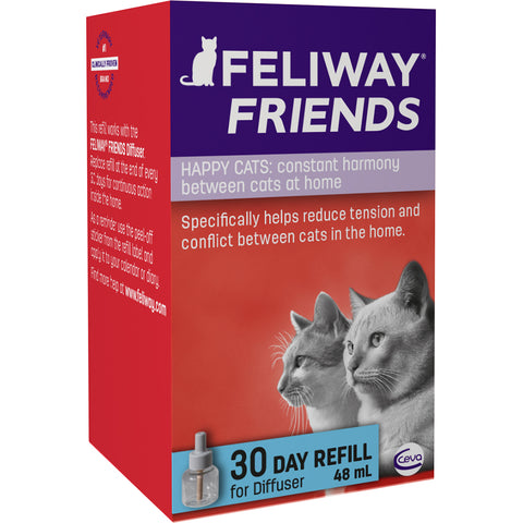 Feliway Friends Cat Calming Diffuser Refill 48ml - 1 Month