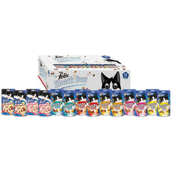 Felix Mixed Snack Box Cat Treats 790g