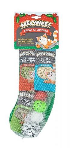 Meowee Christmas Stocking for Cats Christmas Stocking