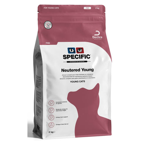 SPECIFIC FND Neutered Young Kitten Food 2kg