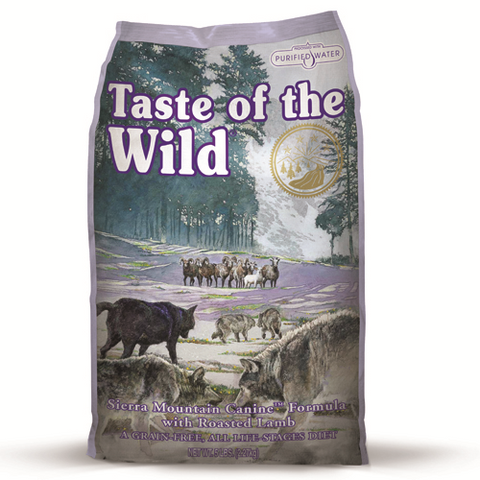 Taste Of The Wild Sierra Mountain Lamb Adult Dog Food 13kg