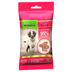 Natures Menu Dog Treats 60g - Beef