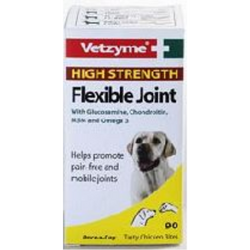 Vetzyme High Strength Flexible Joint Tablets x 90