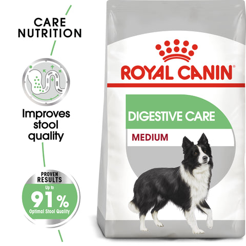 Royal Canin Medium Digestive Care Adult Dry Dog Food 3kg