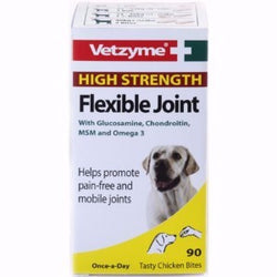 Bob Martin Vetzyme High Strength Flexible Joint Tablets 90 Tablets