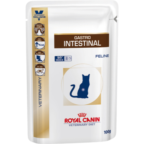 Royal Canin Veterinary Diets Gastro Intestinal Cat Food 100g x 12