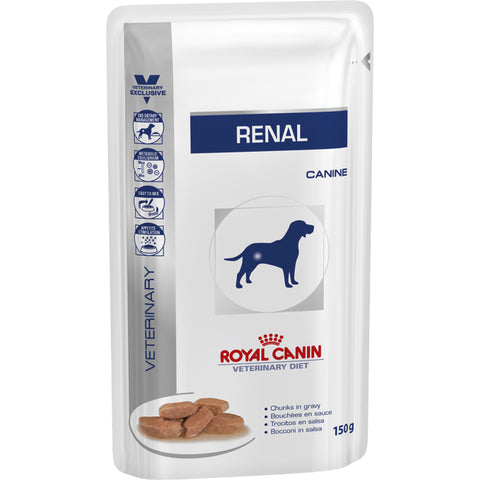 Royal Canin Veterinary Diets Renal Dog Food Pouches 150g x 40