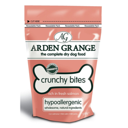 Arden Grange Crunchy Bites Dog Treats 250g - Salmon