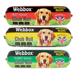 Webbox Chub Rolls Dog Food 800g x 12