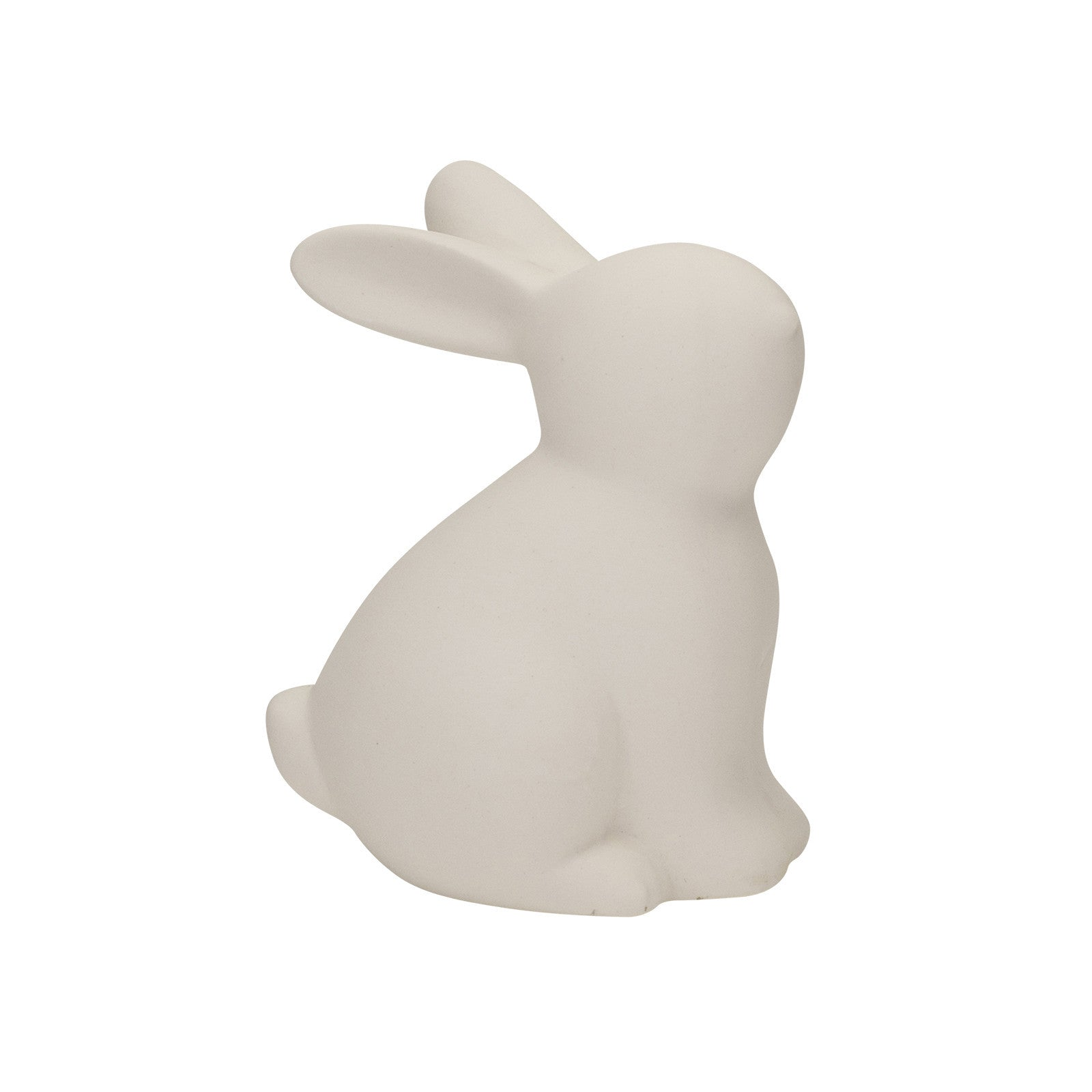 Cute Rabbit Ornament in White H 10 cm