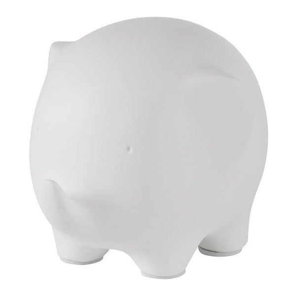Cute Elephant Ornament White by Aufora