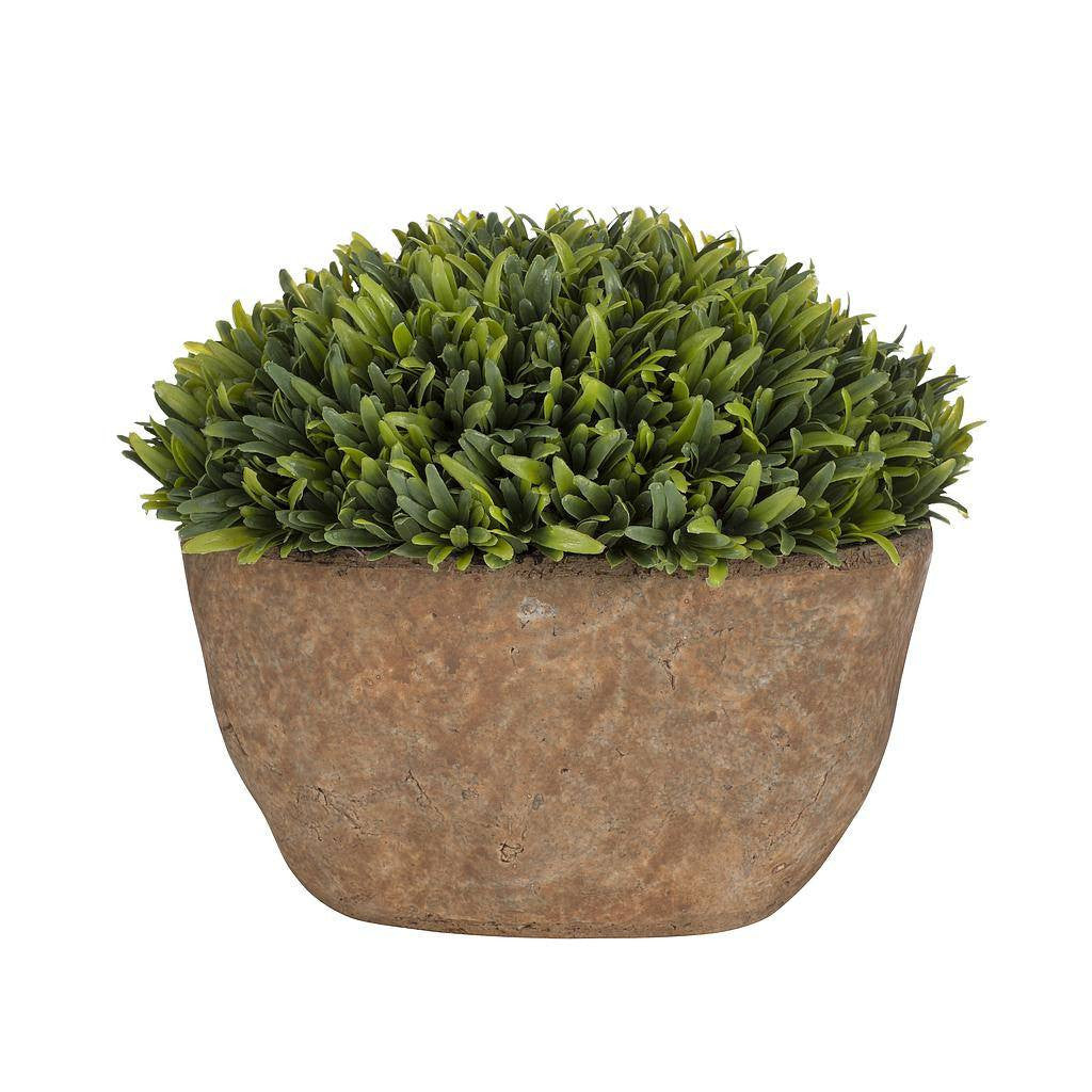 Artificial Plant in Rustic Pot