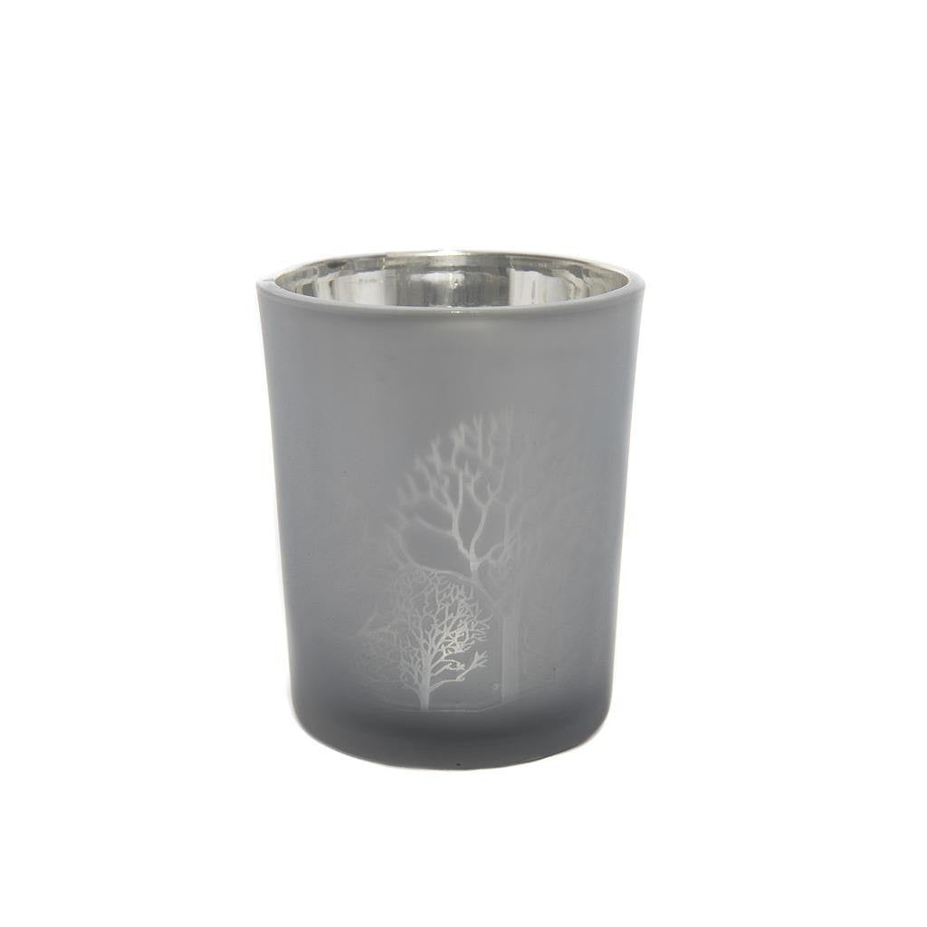 Votive Night Frost Tea Light Candle Holder