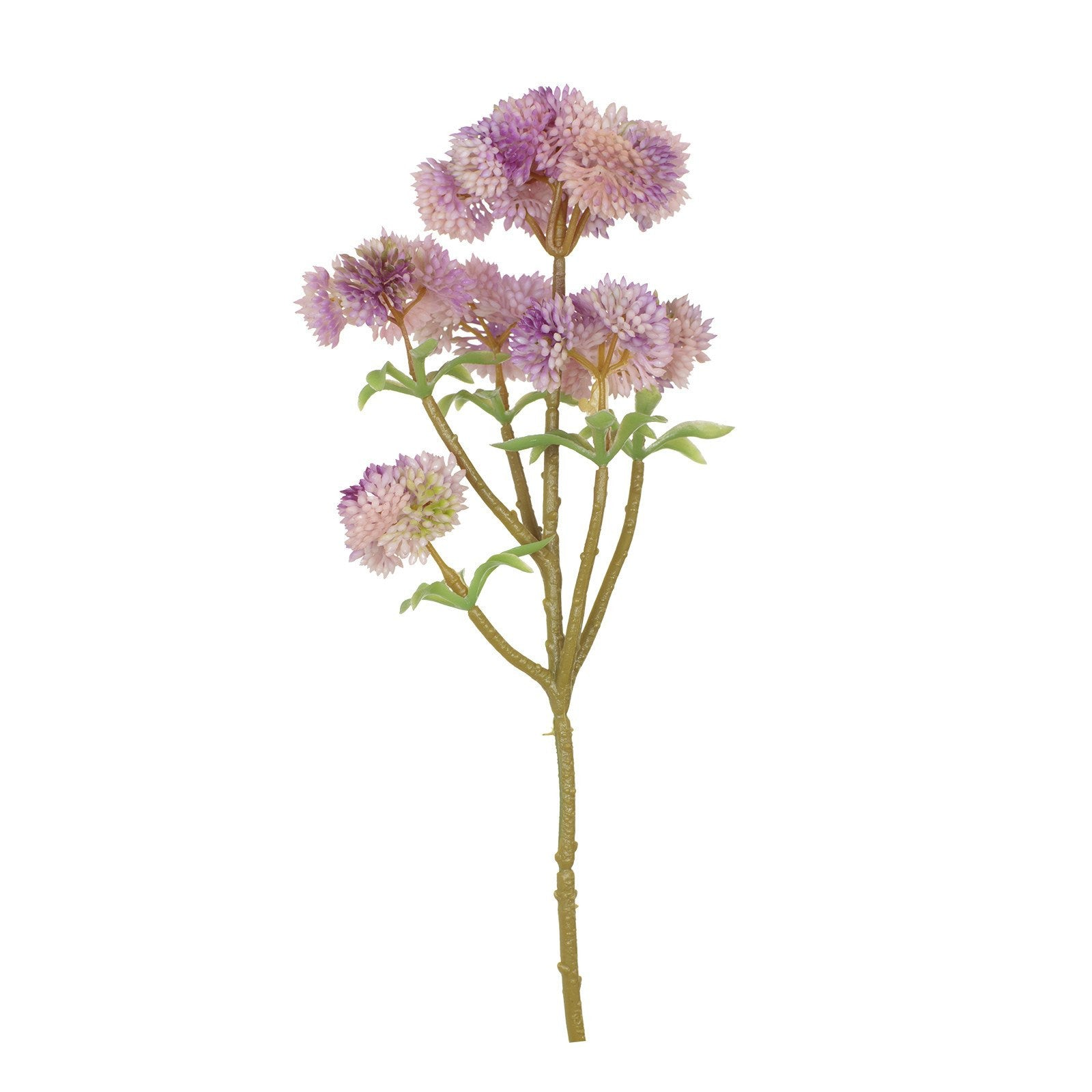 Artificial Decorative Wild Flower in Purple H 33 cm