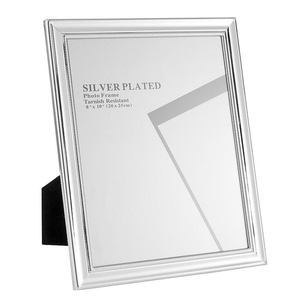 Silver Plated Picture Frames, 8 x 10""