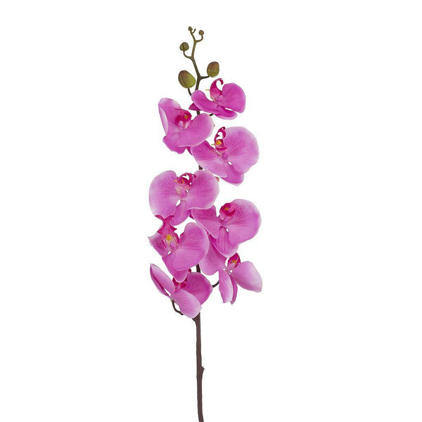 Artificial Pink White Orchid Flower - H 100 cm