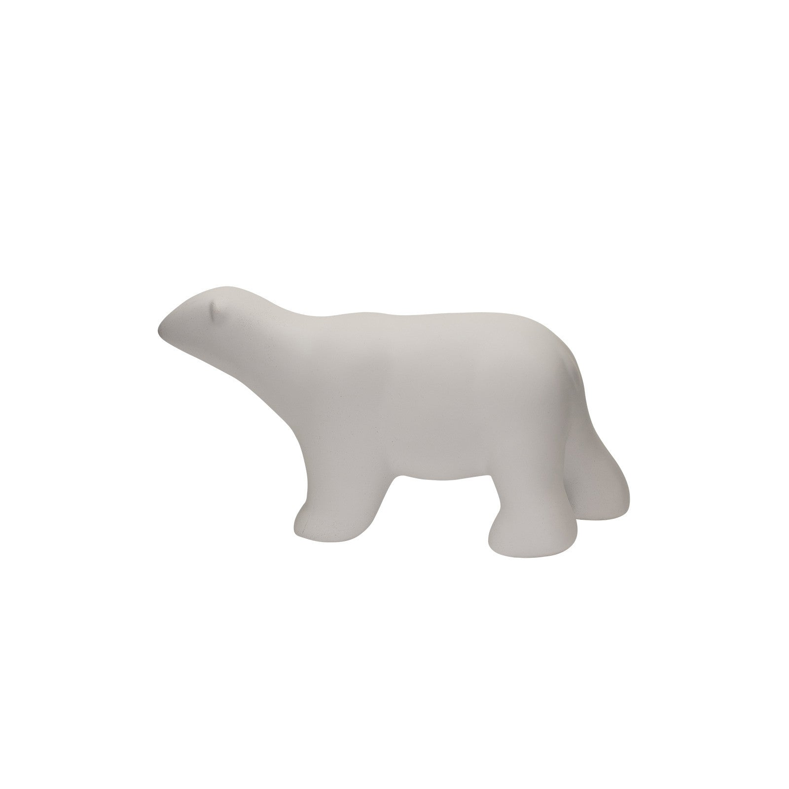 White Polar Bear Ornament Statue - Small