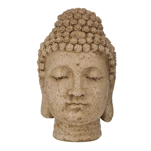 Buddha Head Ornament Statue