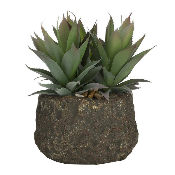 Artificial Tropical Plant in Pot