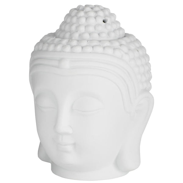 Buddha Head Oil and Incense Burner
