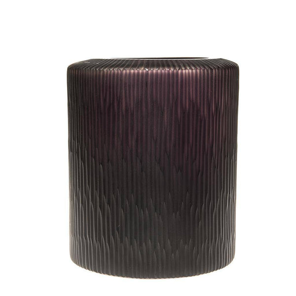 Brown Smoke Vase - Short