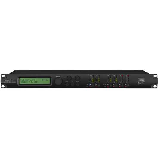 DEQ-230 Digital EQ/DSP