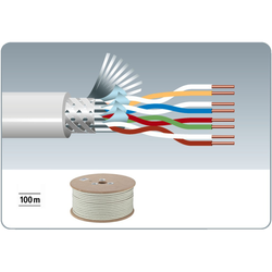 CAT6 Kabel 100m rull