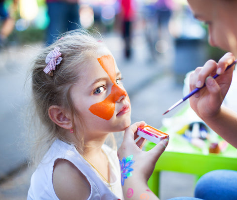 skin-friendly face painting