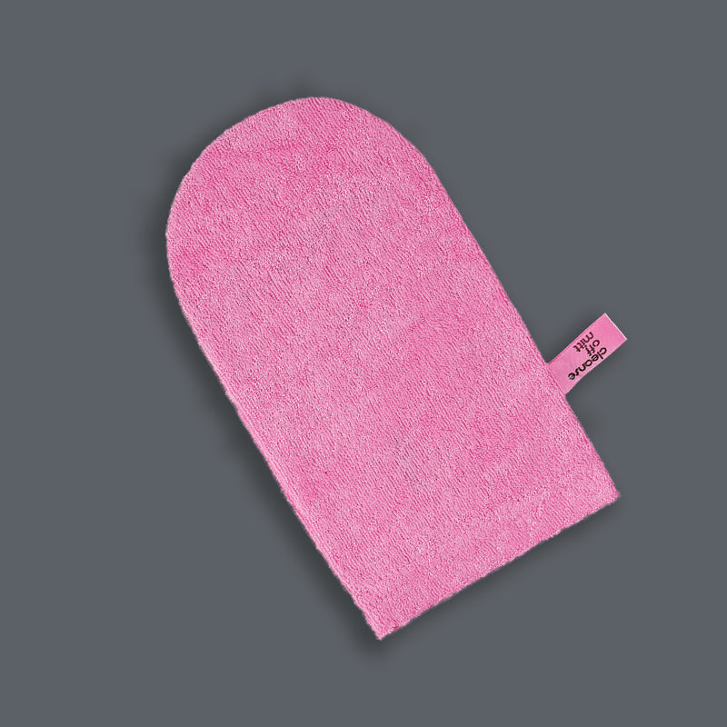 LIMITED EDITION PINK CLEANSE OFF MITT