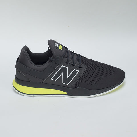 247 Tritum Pack Sneaker - Charcoal/ Neon Yellow