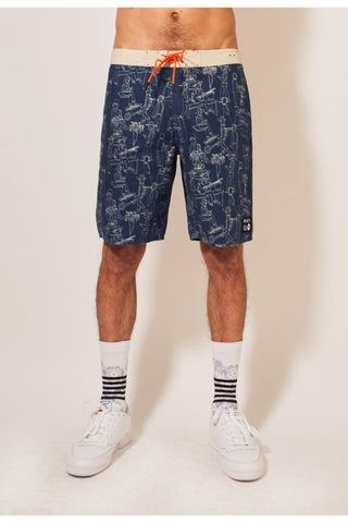 Mark Alsweiler Boardshorts - Dark Denim